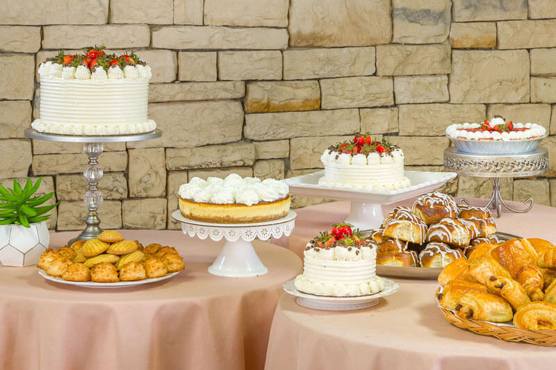 Baked good for free at Glen Cove Center for Nursing and Rehabilitation