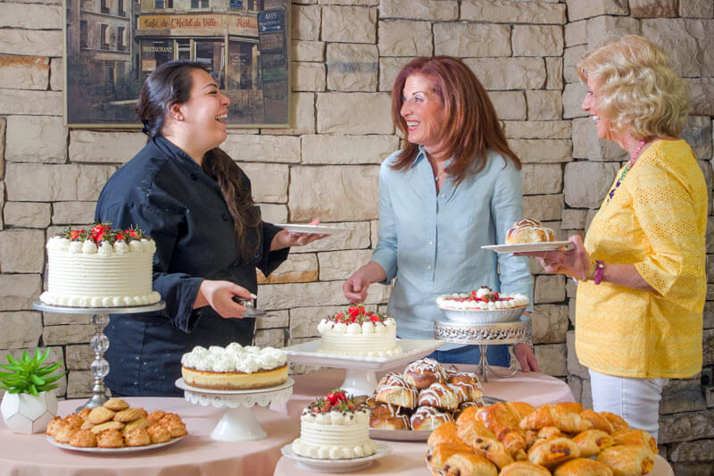 desserts and pastries at Glen Cove Center for Nursing and Rehabilitation