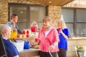 Enjoying summer at Glen Cove Center for Nursing and Rehabilitation