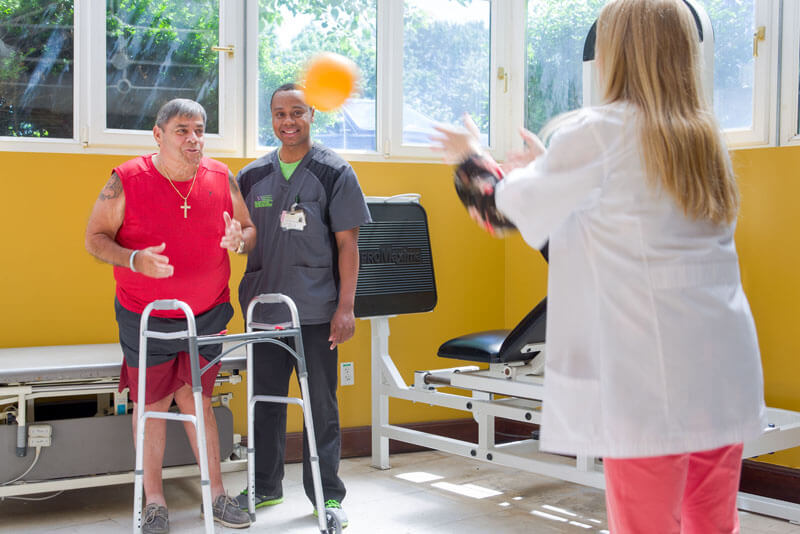 Physical therapy at our Nursing and Rehabilitation Center