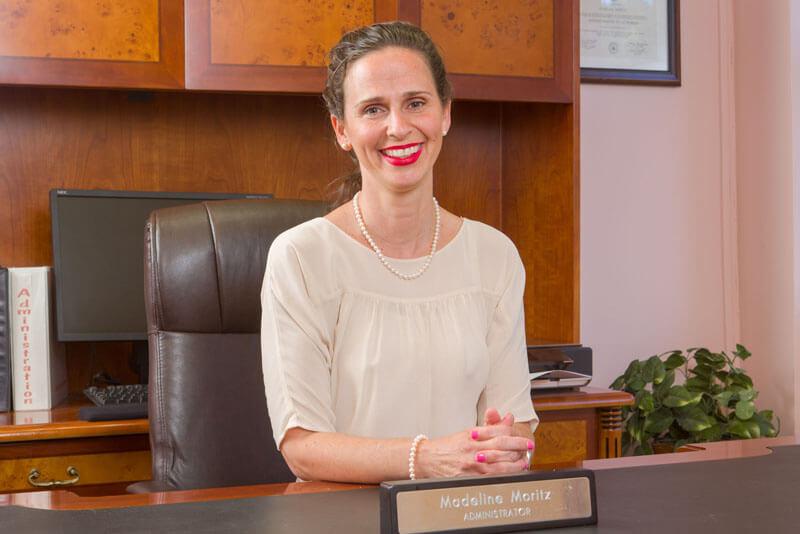 Administrator Madeline Moritz at Glen Cove Center for Nursing and Rehabilitation